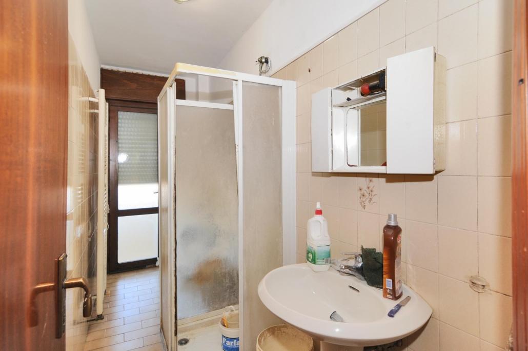 Appartamento Il Nido_Prima allestimento bagno