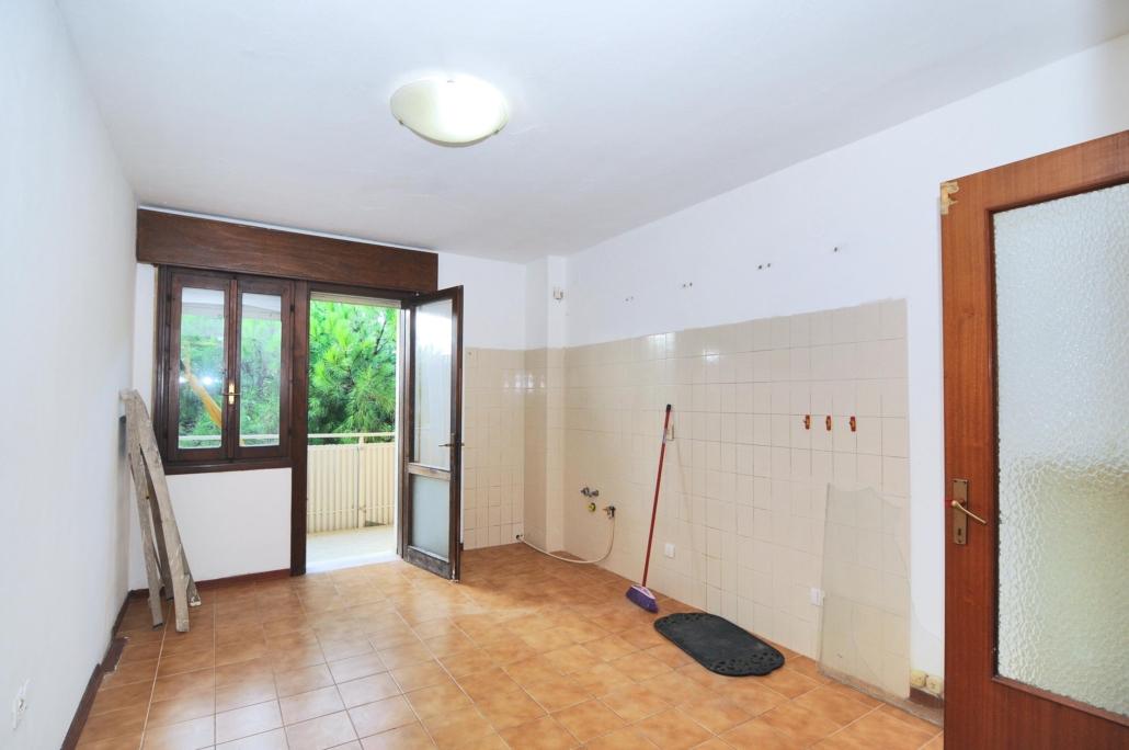 Appartamento Il Nido_Prima allestimento cucina