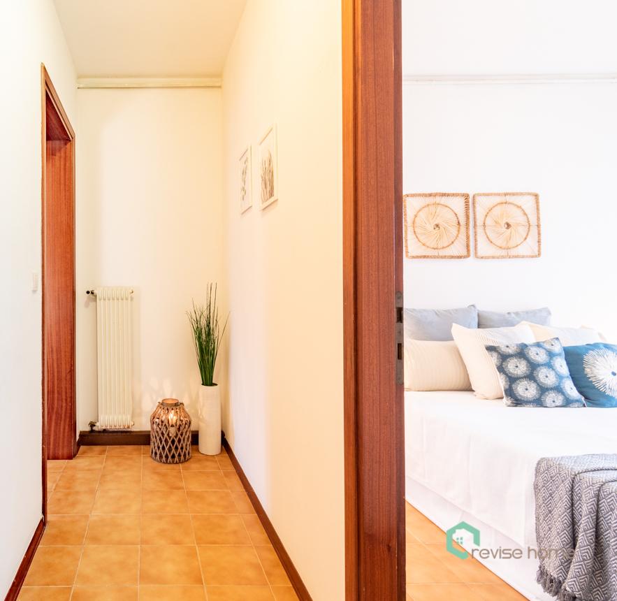 Appartamento Il Nido_Dopo allestimento disimpegno
