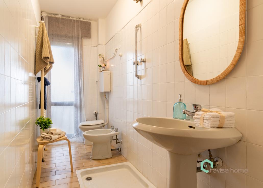 Appartamento Il Nido_Dopo allestimento bagno